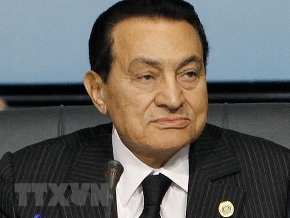 Ảnh (tư liệu): Ông Hosni Mubarak tại một hội nghị ở Sharm El-Sheikh, Ai Cập tháng 11/2009. (Nguồn: THX/TTXVN)