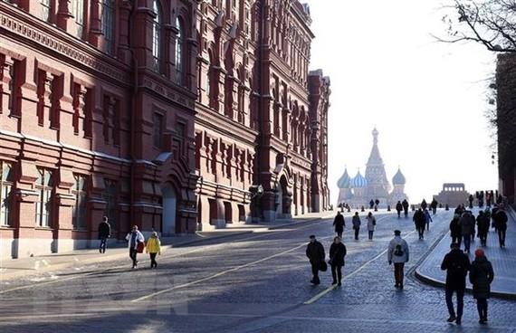 Nhiều chuyên gia cho rằng sự sụt giảm dòng du khách Trung Quốc có thể gây thiệt hại đáng kể đối với lĩnh vực du lịch của thành phố Moskva. (Ảnh: Trần Hiếu/TTXVN)