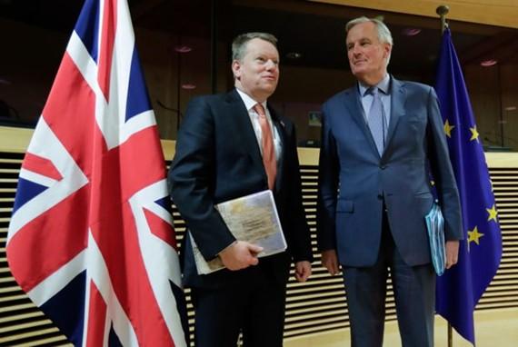 Đàm phán thương mại Brexit vòng hai bị hoãn do Brexit. (Ảnh: AFP)