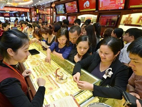 Giá vàng trong nước tăng 100.000 đồng phiên mở cửa đầu tuần