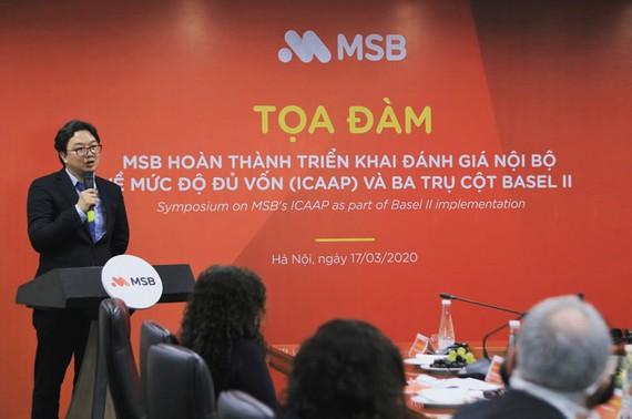 MSB hoàn thành 3 trụ cột trong Basel II trước thời hạn