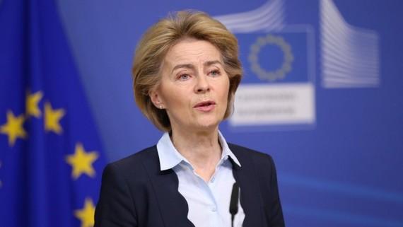 Chủ tịch Ủy ban châu Âu Ursula von der Leyen. Ảnh: Dlf