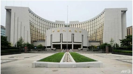 Ngân hàng Nhân dân Trung Quốc bơm 7 tỷ USD vào thị trường Ảnh AFP