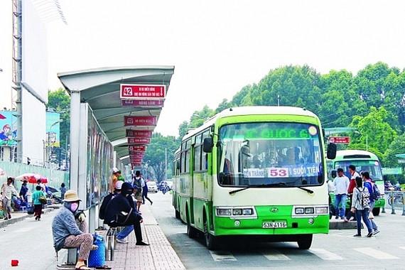 TP.HCM dừng xe buýt từ 0h ngày 1/4