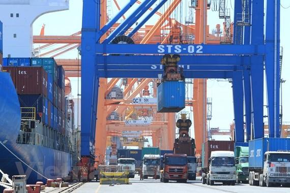 Trong quý 1 có 8 mặt hàng xuất khẩu vượt 1 tỷ USD. (Ảnh: PV/Vietnam+)
