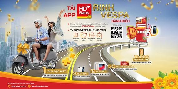 Săn ưu đãi vàng từ thanh toán trực tuyến qua App HDBank