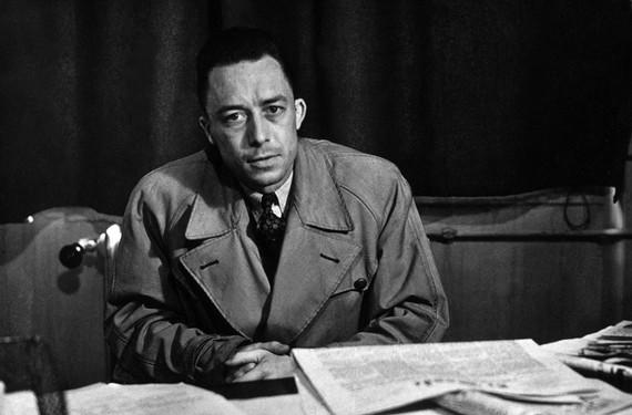 Nhà văn Albert Camus