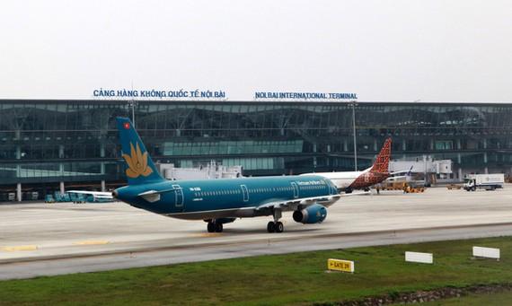 Mặt sau của nhà ga T2, Cảng hàng không quốc tế Nội Bài - Ảnh: TUẤN PHÙNG