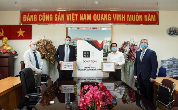 BBGV hỗ trợ Việt Nam ứng phó Covid-19