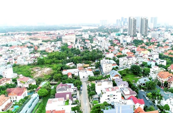 Điều chỉnh quy hoạch tỷ lệ 1/500 dự án tại phường Thảo Điền
