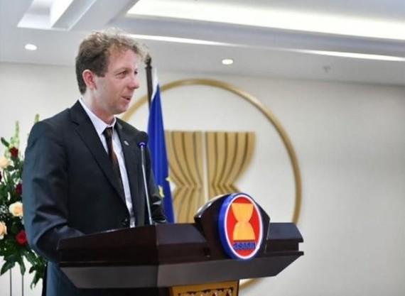 Đại sứ EU tại ASEAN, ông Igor Driesmans. (Nguồn: netralnews.com)