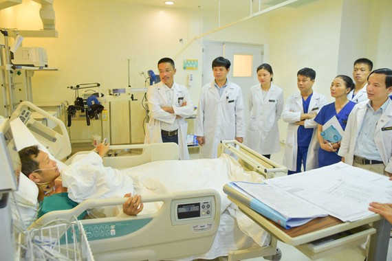 Hồi sức cấp cứu là một trong những lĩnh vực đầu tiên Vinmec sử dụng telemedicine để tăng hiệu quả điều trị