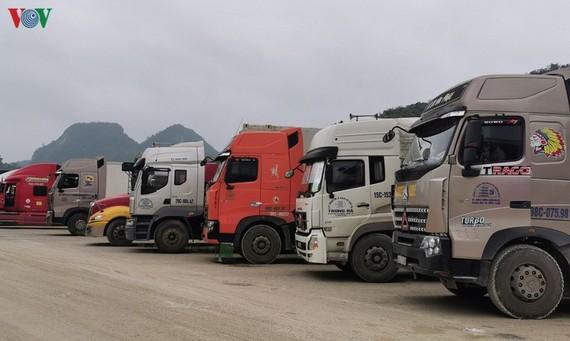 Hiện tại tỉnh Lạng Sơn đang tồn 1.070 xe và toa hàng.