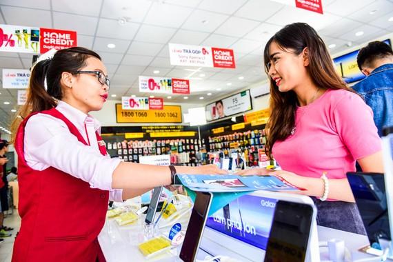 Home Credit, một trong những công ty dẫn đầu trong lĩnh vực vay tiêu dùng trả góp tại Việt Nam.