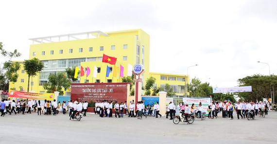 Trường ĐH Trà Vinh nhận hồ sơ xét tuyển theo phương thức học bạ và xét tuyển thẳng từ ngày 22-6 đến 15-8