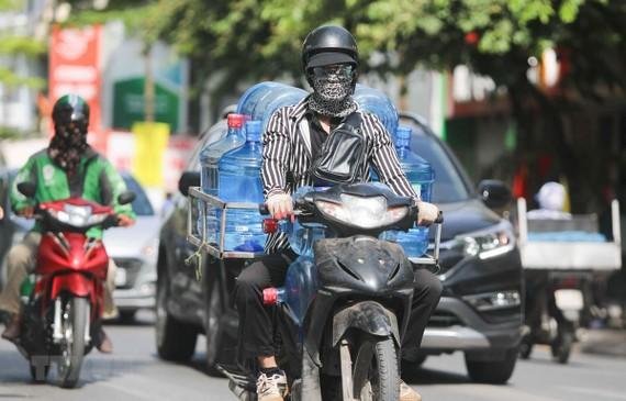 Khu vực Hà Nội nắng nóng cao nhất 40 độ C