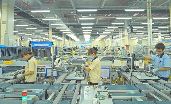 Từ giờ đến cuối năm, ngành điện tử Việt Nam sẽ gặp nhiều khó khăn do ảnh hưởng của đại dịch. (Ảnh minh họa: KT)