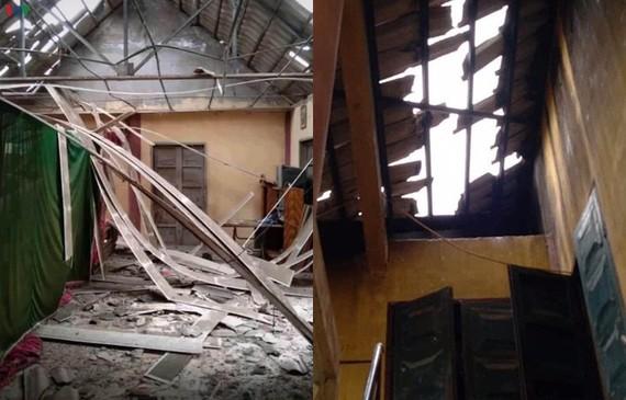 6 trận động đất liên tiếp trong 2 ngày ở cùng 1 khu vực gây thiệt hại rất lớn cho người dân trong vùng.