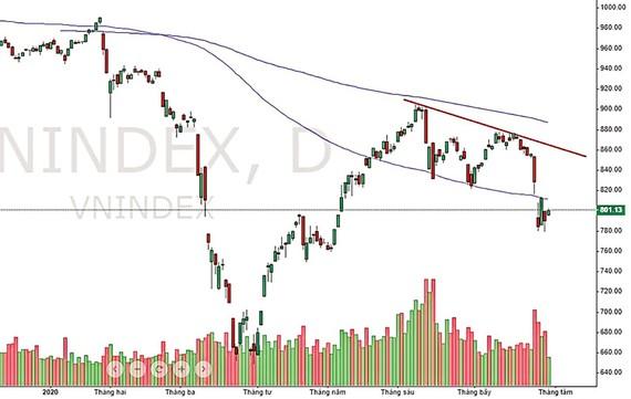 VNIndex thể hiện rằng thị trường đã đạt đỉnh trước khi kết quả kinh doanh quý II được công bố. Các thông tin này sau đó đã không đủ sức nâng đỡ thị trường tránh khỏi tác động từ sự bùng phát trở lại của dịch Covid-19.