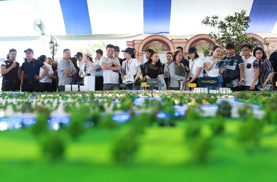 Các dự án BĐS sinh thái tại các đô thị vệ tinh thu hút sự quan tâm của đông đảo khách hàng