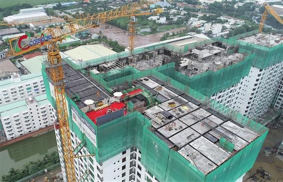 Dự án Akari City vượt tiến độ thi công, chính thức cất nóc giai đoạn 1