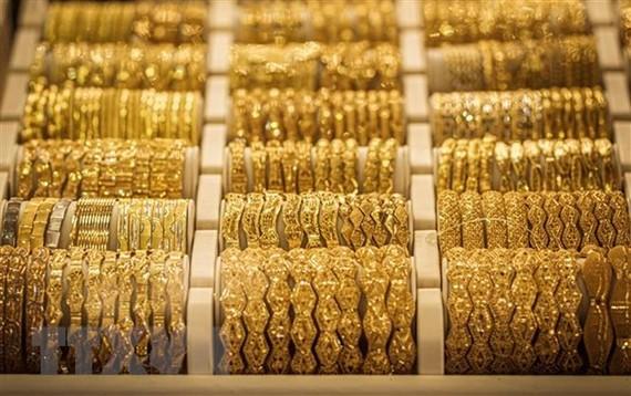 Một cửa hàng vàng ở Khartoum, Sudan. (Nguồn: AFP/TTXVN)