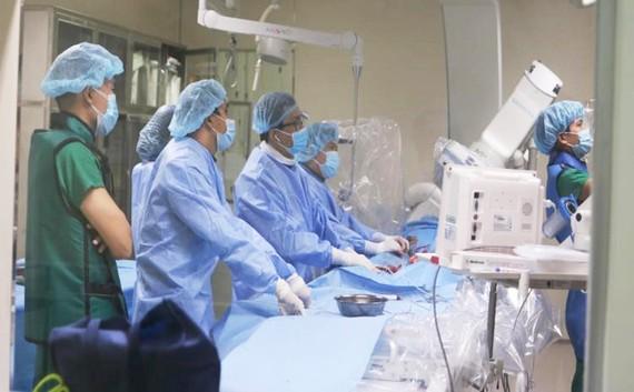 Các bác sĩ xử trí thành công