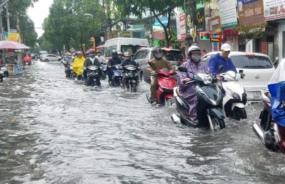Áp thấp gây mưa đến 500mm