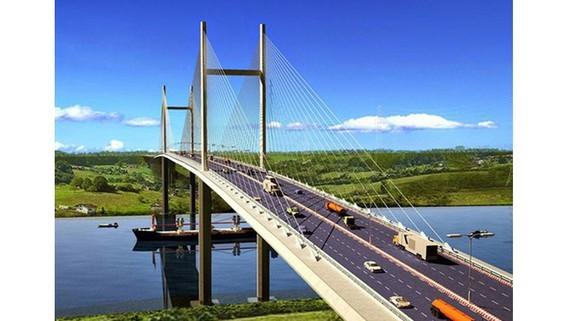 Bàn phương án xây cầu Cát Lái