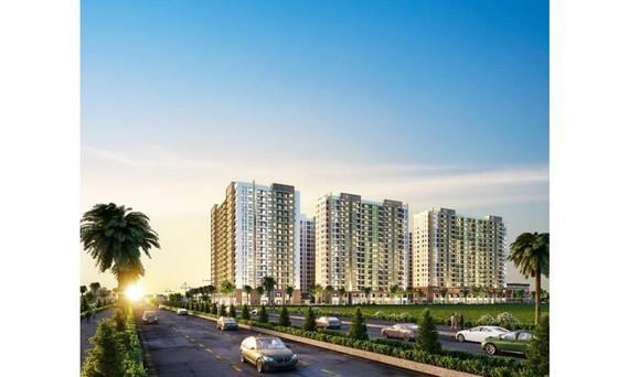 Khu căn hộ New Galaxy do Hưng Thịnh Land phát triển đang tạo sức hút lớn ở thị trường phía Đông TPHCM
