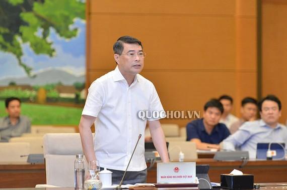 Thống đốc Lê Minh Hưng - Ảnh: Quochoi.vn