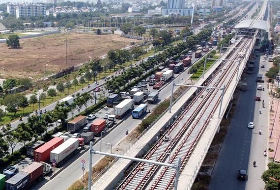 Toàn tuyến Metro số 1 (Bến Thành – Suối Tiên) đã đạt 76% khối lượng thi công và dự án dự kiến được đưa vào vận hành khai thác cuối năm 2021.