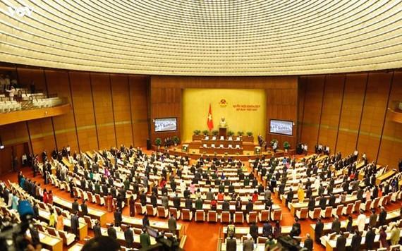 Khai mạc Kỳ họp thứ 10 Quốc hội khoá XIV