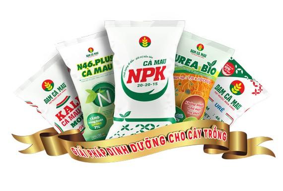 Phân bón Cà Mau lần thứ 4 được công nhận thương hiệu quốc gia