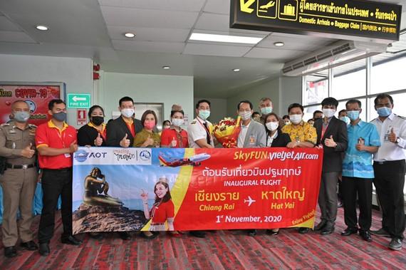 Vietjet Thái Lan mở đường bay mới tới TP Hat Yai