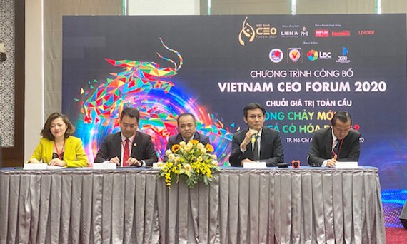 1.000 CEO tham gia sự kiện CEO Forum: Chuỗi giá trị toàn cầu, dòng chảy mới
