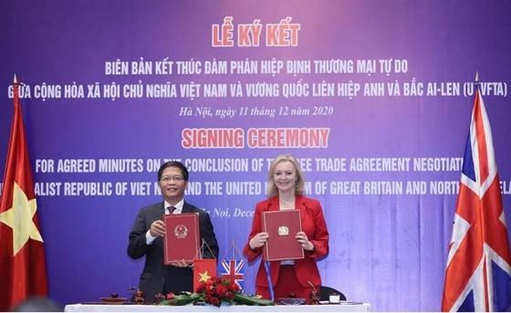 Việt Nam và Vương quốc Anh đã kết thúc quá trình đàm phán Hiệp định UKVFTA. Ảnh: VIẾT CHUNG