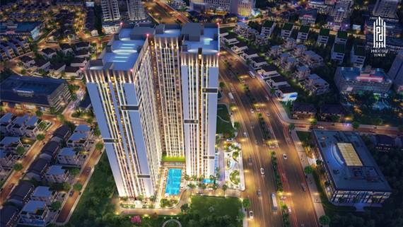 Phối cảnh dự án Phuc Dat Tower