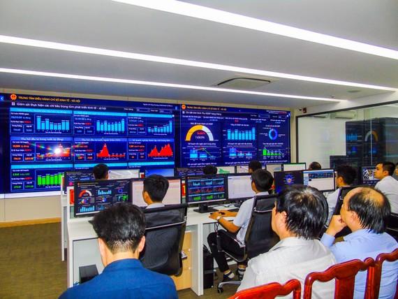 Trung tâm điều hành thông minh hỗ trợ công tác giám sát, điều hành thông qua các chỉ số trên các lĩnh vực của tỉnh Bình Phước.