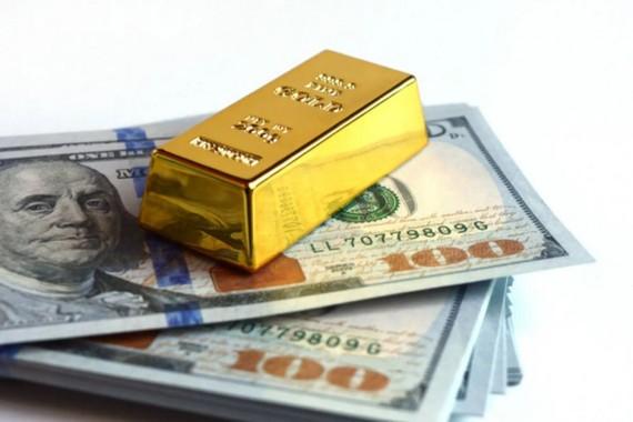 Shỉ số giá vàng và đô la Mỹ chịu tác động lớn từ dịch Covid-19.(Ảnh minh họa: KT)
