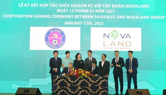 Sự chung tay, góp sức từ tập đoàn Novaland sẽ góp phần tạo điều kiện tăng cường hơn nữa cả về quy mô lẫn chất lượng của đội tuyển Sài Gòn FC.
