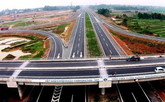 Dự án xây dựng cao tốc Bắc – Nam phía Đông là dự án quan trọng quốc gia. (Ảnh: KT)