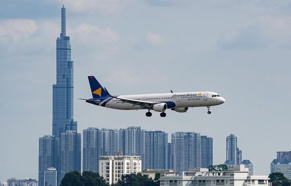 Các chuyến bay thương mại của hãng hàng không Vietravel Airlines dự kiến sẽ cất cánh vào ngày 25/1/2021. (Ảnh: CTV/Vietnam+)