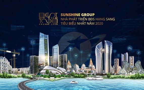 Sunshine Group nhận giải Nhà phát triển bất động sản tiêu biểu nhất năm 2020
