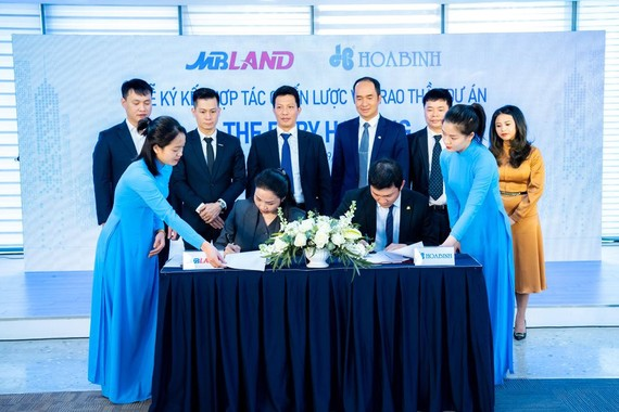 Hòa Bình và MBLand hợp tác chiến lược
