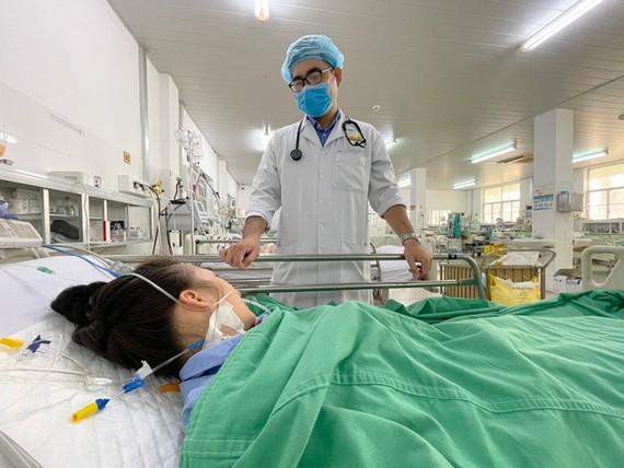 Bệnh nhân phục hồi sức khỏe sau khi được điều trị kịp thời