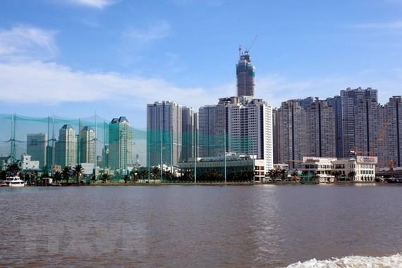 Một góc Thành phố Hồ Chí Minh. (Ảnh: Hoàng Hải/TTXVN)