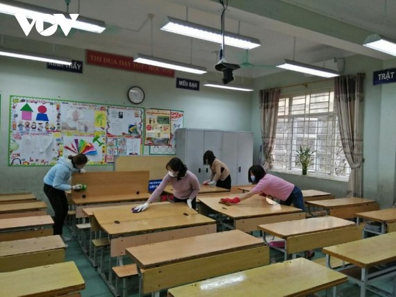 Học sinh Quảng Ninh sẽ quay trở lại trường từ 1/3 với các mức phòng chống dịch nâng cao hơn.
