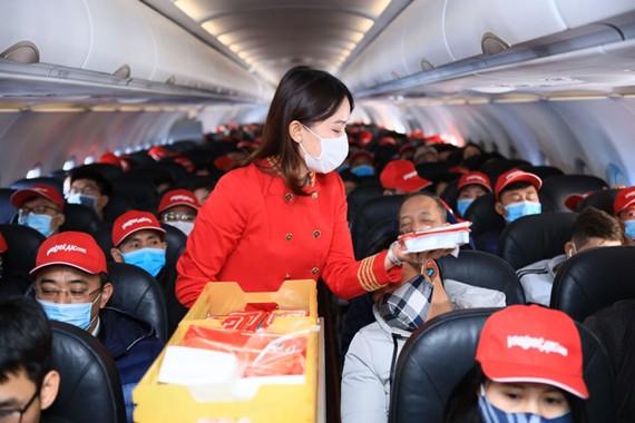 Vietjet bay trở lại chặng bay tới Vân Đồn