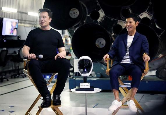 Tỷ phú Nhật Bản mời 8 người cùng du hành Mặt trăng bằng SpaceX